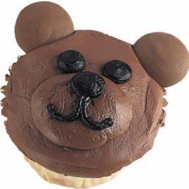 Another bear idea using mainly buttercream