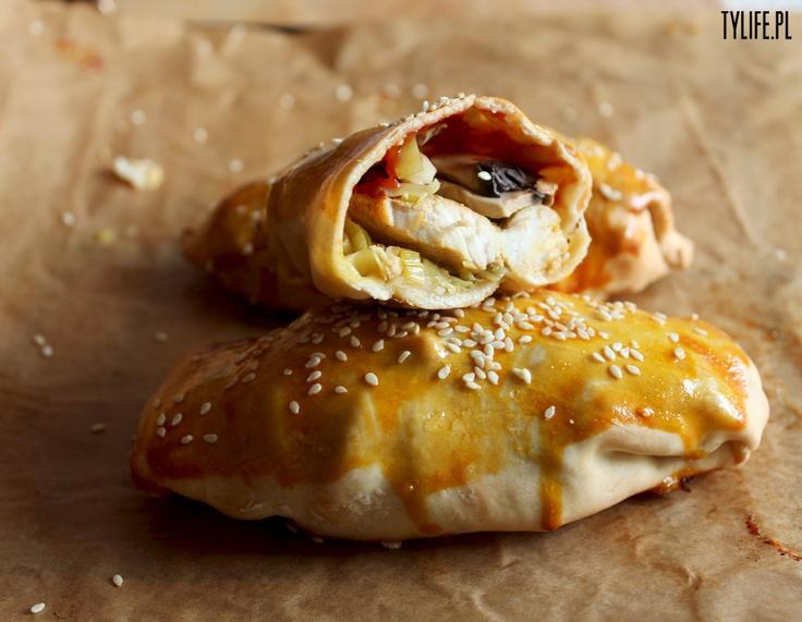 Taste Your Life - blog kulinarny : Chińskie bułeczki z kurczakiem.