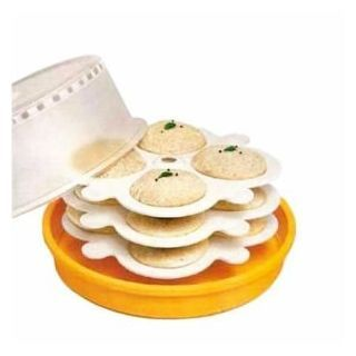 Latest Trend Microwave Idli/Dhokla/ Cake Maker With 3 Plates @ Rs 169