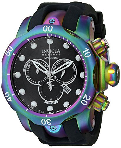 Invicta Men's 15984 Venom Analog Display Swiss Quartz Black Watch Invicta http://www.amazon.com/dp/B00KJ2ZILK/ref=cm_sw_r_pi_dp_JvbVtb1FKBYF0KZ4