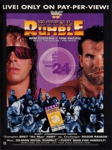 wrestling posters. Royal Rumble 93