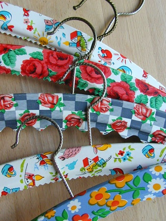 1000 Images About Coat Hangers On Pinterest Fabric