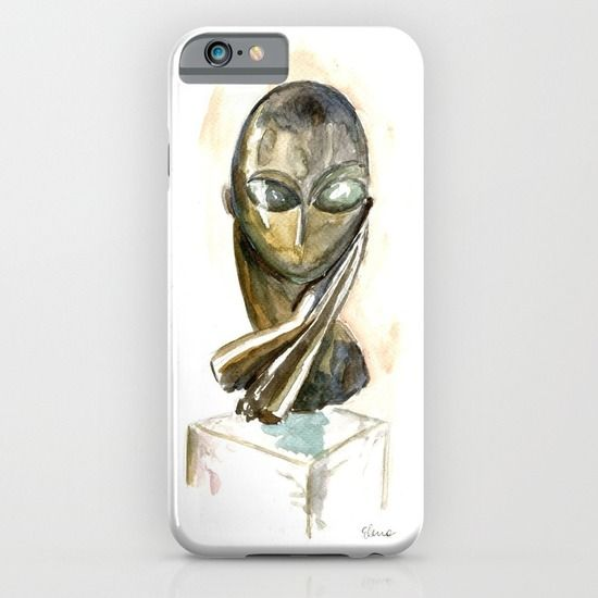 Mlle Pogany iPhone & iPod Case by Elena Sandovici - $35.00