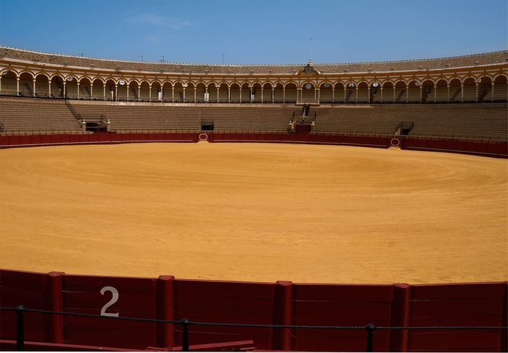 Bullring, Seville, Spain, Sports, Stadium, Venue