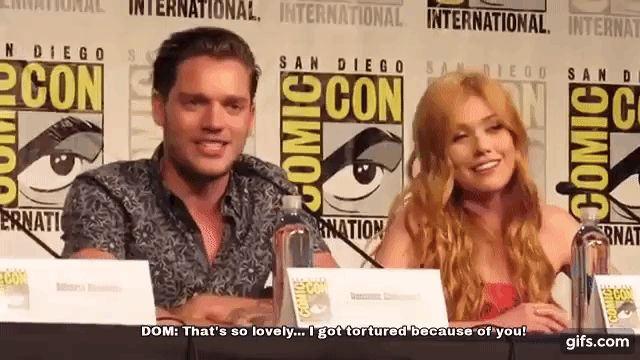 Dom and Kat // San Diego Comic Con