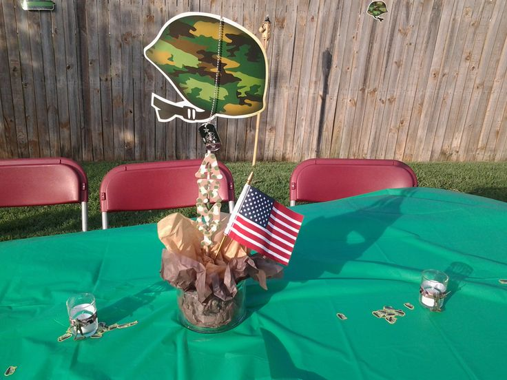 Military Party Centerpiece Military Part6 In 2019
