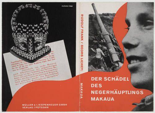 "László Moholy-Nagy. ""Der Schädel des Negerhäuptlings Makaua"" by Rudolf Frank and Georg Lichey. 1920-30"