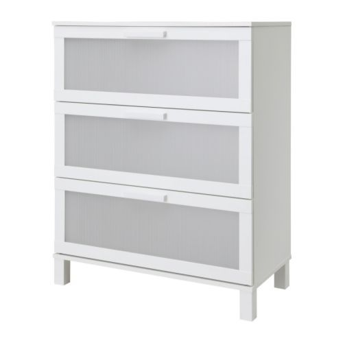ANEBODA  Chest of 3 drawers, white  $129.00  Article Number :701.580.25  Smooth running drawers with pull-out stop. Read more