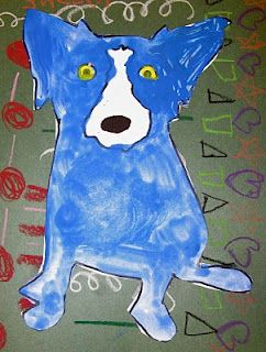 Blue Dog art lesson - George Rodrigue in New Orleans