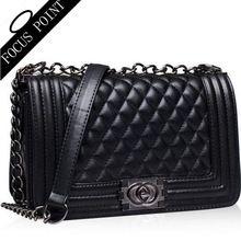 Bolsas de grife mulheres sacos senhoras xadrez de couro mulheres messenger bags marcas famosas Crossbody bolsa de crocodilo sacos de ombro(China (Mainland))