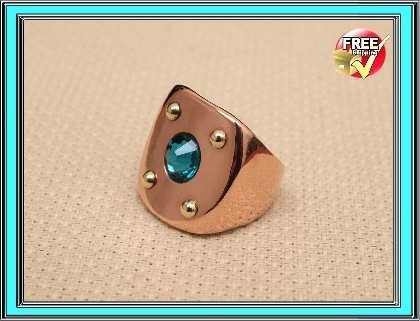 Steampunk jewelry finger ring
