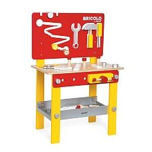 "Janod - Etabli Bricolo Red Master - Janod - Toys""R""Us"