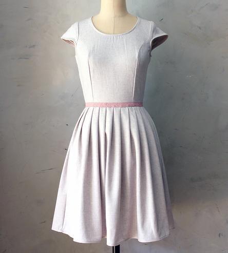 Lilac Bouquet Dress | Women's Clothing | Fleet Collection | Scoutmob Shoppe | Product Detail