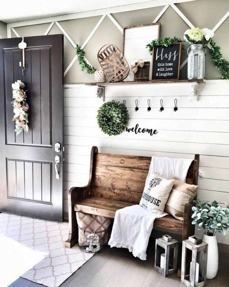 ✔81 cool interior farmhouse decoration ideas 33
