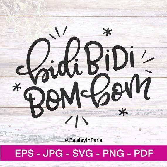 Bidi Bidi Bom Bom Selena Svg Digital Artwork Personal Etsy In 2020 Bidi Bidi Bom Bom Hand Lettering Quotes Cricut Projects Vinyl