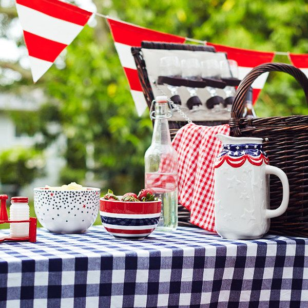 Lovely Look At This Fourth Of July: Picnic Essentials On #zulily Today! #picnic