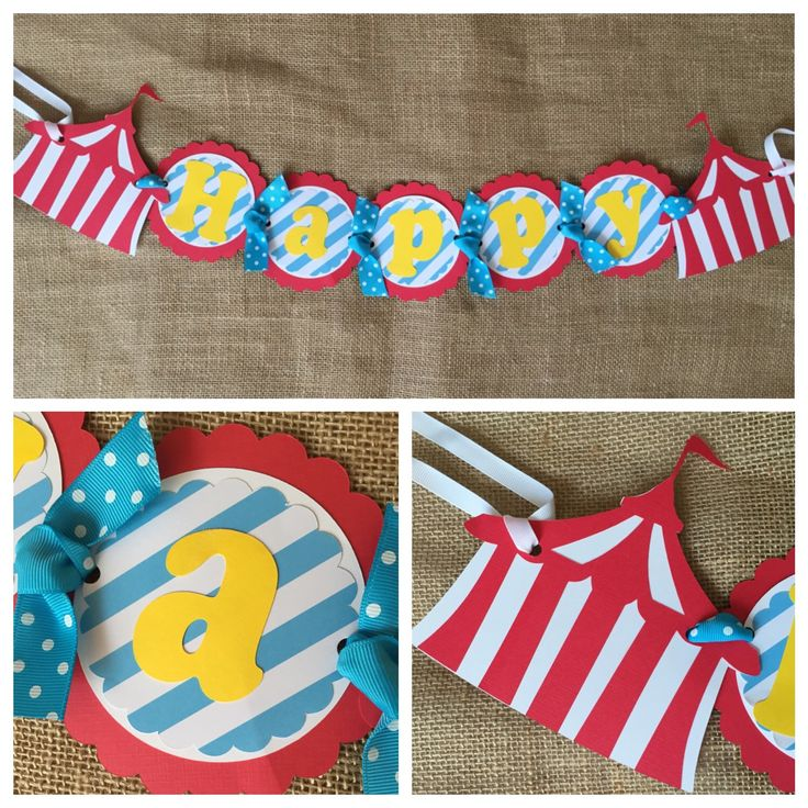 Carnival Birthday Banner, Carnival Party Banner, Carnival Birthday Decorations, Carnival Birthday Party, Carnival Party Decor by AWhimsyPartyShop on Etsy https://www.etsy.com/listing/475796528/carnival-birthday-banner-carnival-party