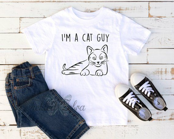 Funny Cat Toddler Shirt Cute Cat Gifts for Toddler Meow Cat Toddler Shirt