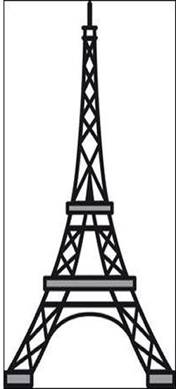 CR1220 - Marianne Design Craftables Die Eiffel Tower - Paris Approx measurements Size 3 6 x 2 1 at base New Craftables These are beautiful cutting