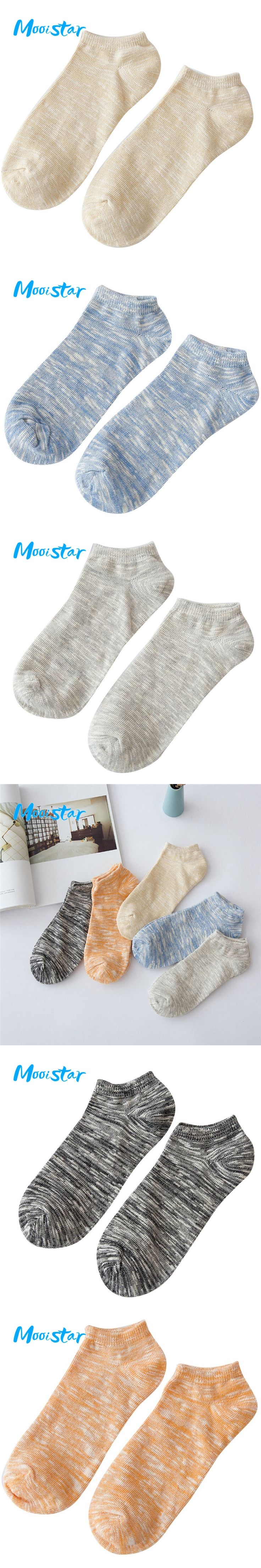 Mooistar #3066D# Men's Cotton Warm Socks Crew Ankle Low Cut Casual Business Classic Cotton Socks Free Shipping