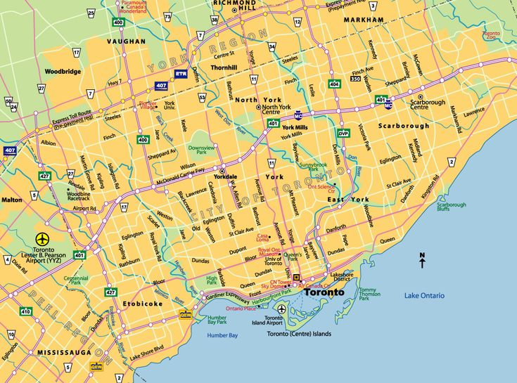 Best Toronto Canada Map Ideas On Pinterest Canada Visit - Ontario canada map