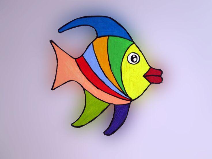 Imãs de geladeira - Peixes 039 / Magnets - Fishes 039
