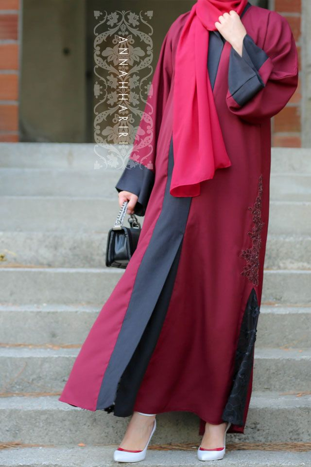 Abaya www.annahariri.com Occasional abaya for wedding or any other special event if you attending as a guest.