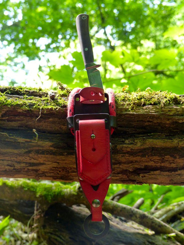 #bushcraft #kelseycreek knives #necknives #bladearmour #modularequipment