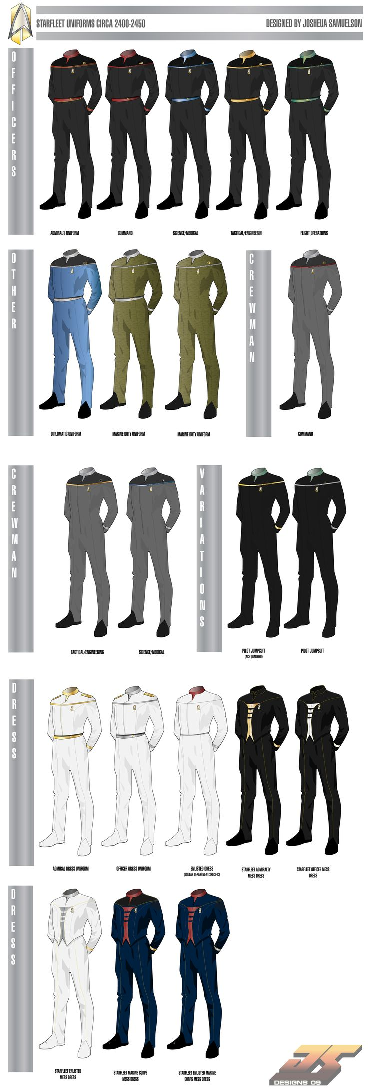 madeinjapan1988 star trek   Wolf's Shipyard :: View topic - Starfleet Uniforms Circa 2400 (UPDATED ...