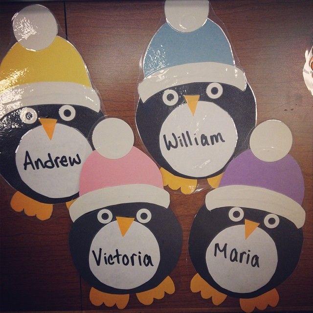 Door Tags are done! #penguin #doordecs #doortags