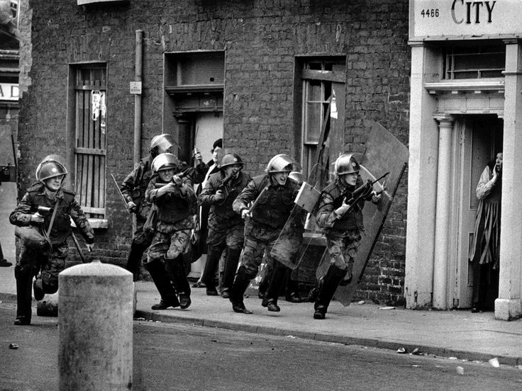 The Bogside, Derry, 1971. The veteran photojournalist Don McCullin, renowned for his arresting images of war and haunting portraits and land...