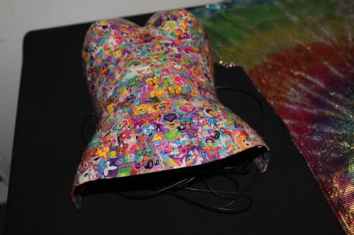 Lisa Frank Corset | 20 Awesome Lisa Frank Items You Wish You Owned