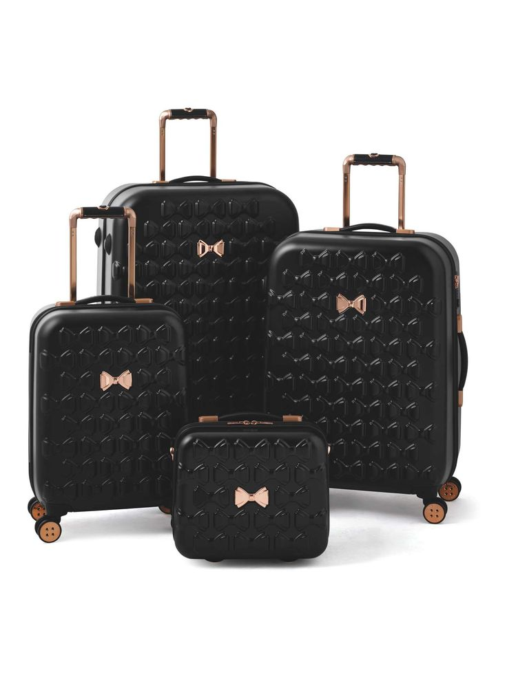 Buy your Ted Baker Beau 4 Wheel Luggage Range, Black online now at House of Fraser. Why not Buy and Collect in-store?
