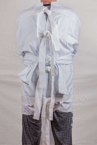 Рубашка для пациента с завязками