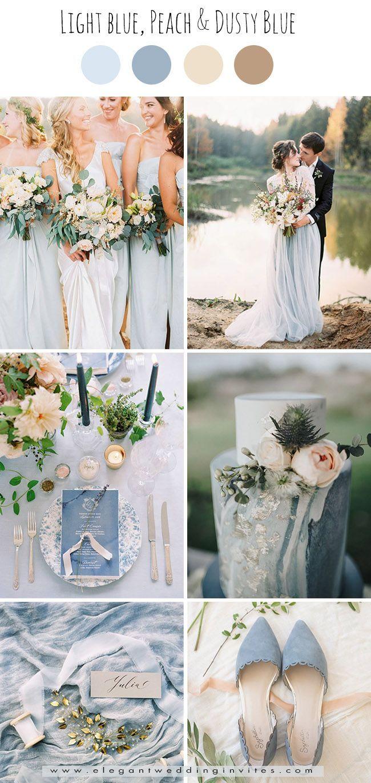 Farbkonzept Hochzeit Hellblau Hellblaue Hochzeit Hochzeit Farbpalette Hochzeitsfarben