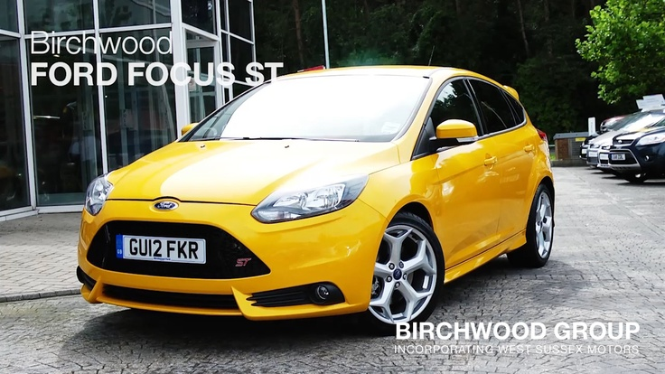 The Ford Focus ST at Birchwood
