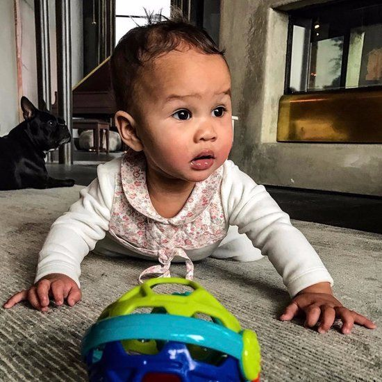 Pictures of John Legend and Chrissy Teigen's Daughter Luna