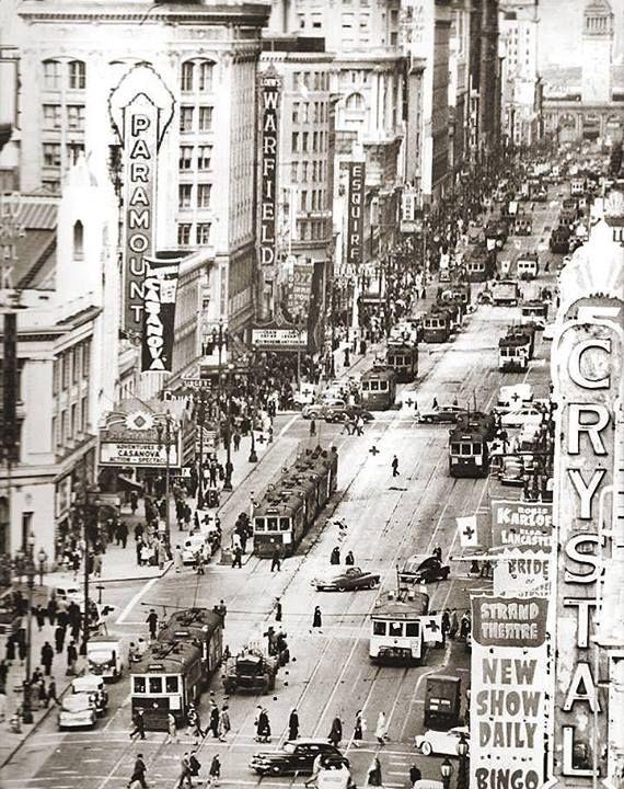 U.S. Market Street, San Francisco CA, 1948