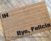 the ORIGINAL Hi Bye, Felicia novelty Welcome doormat