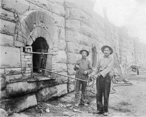 Men Working ~ Coke Ovens ~ Las Animas County ~ Colorado ~ 1880