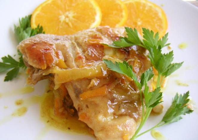Chicken with Orange Sauce Recipe -  Are you ready to cook? Let's try to make Chicken with Orange Sauce in your home!