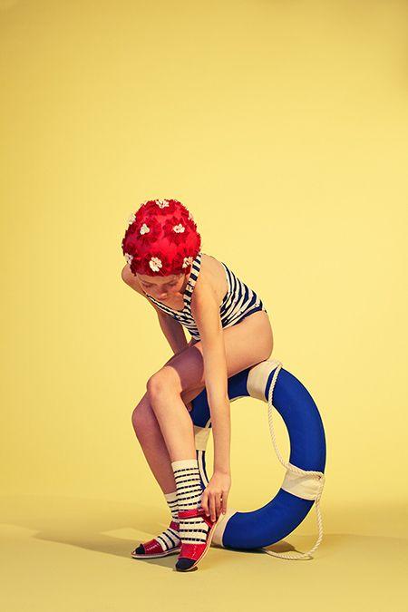 Esperanza Moya: Photography » Telva Niños #12 • Swimming time