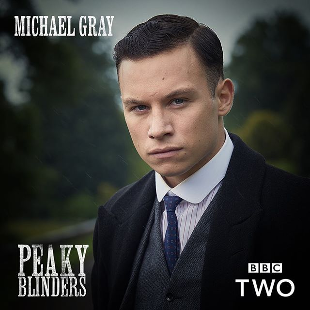 Finn Cole as Michael Gray @robertviglasky #PeakyBlinders returns Weds Nov 15th 9pm @bbctwo