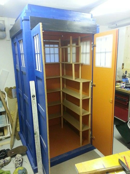 TARDIS BookShelf Enclosure
