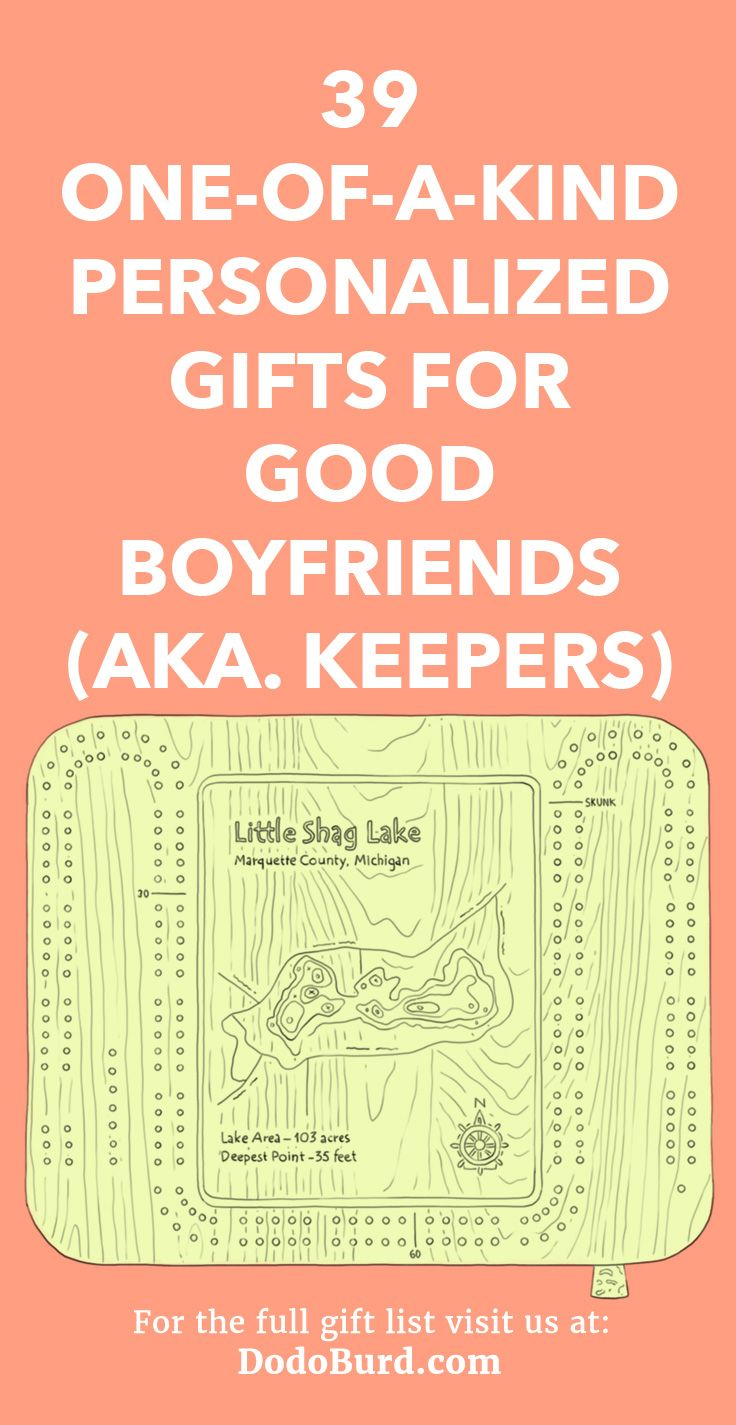 39 One-of-a-Kind Personalized Gifts for Good Boyfriends (aka ...