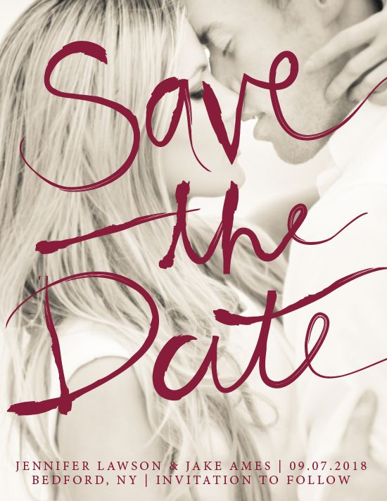 Newport Save the Date Card
