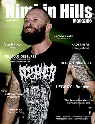 DIGITAL #Magazine #download ON SALE NOW $6 BE QUICK WONT LAST LONG #IndieMusic #Photography #Models #designers #creativeminds Nimbin Hills Magazine -SPECIAL EDITION #1