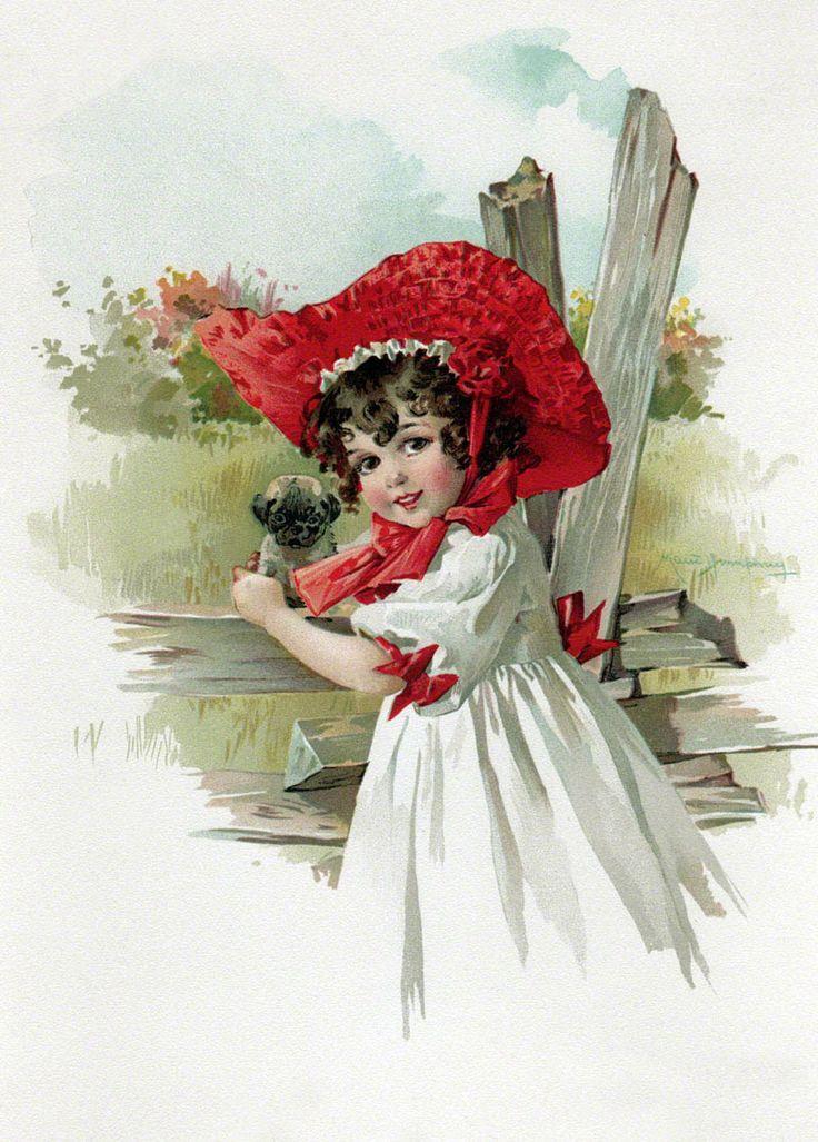 Днем, открытки дети цветы