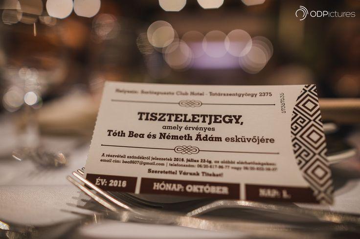 Invitation/ticket