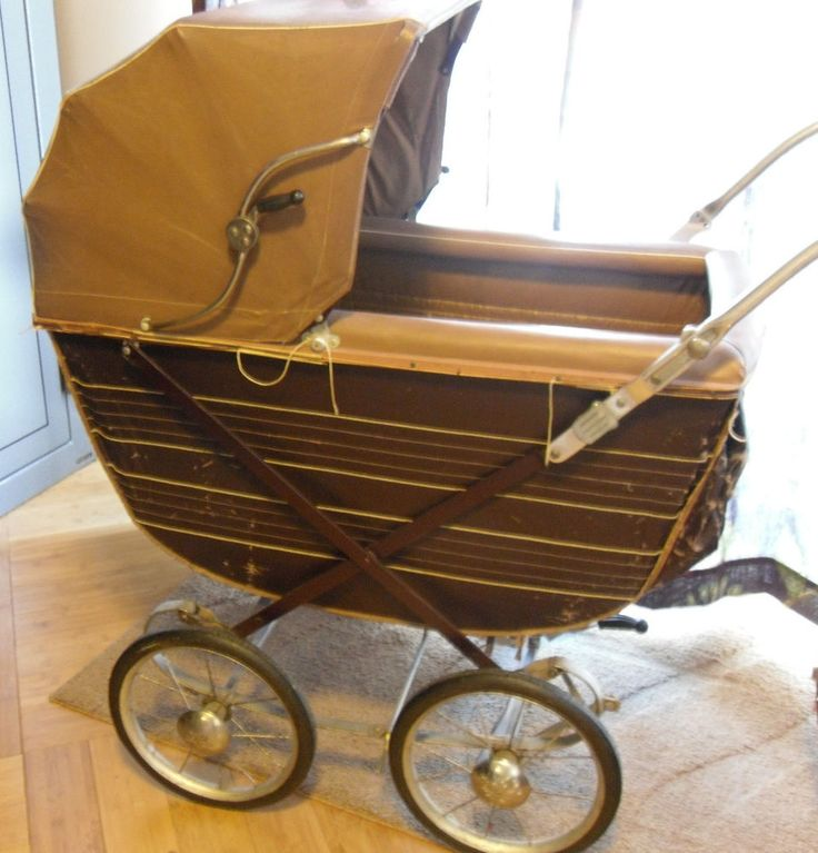 Vintage Hedstrom Baby Stroller Buggy Carriage with fold ...